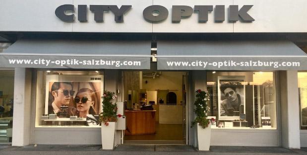 City Optik Geschäftslokal
